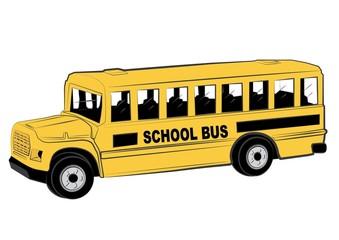 School bus illustration vector