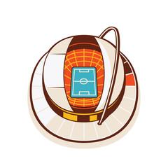 Soccer Stadium - Illustration 1 of 2