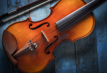 Violin and violin bridge