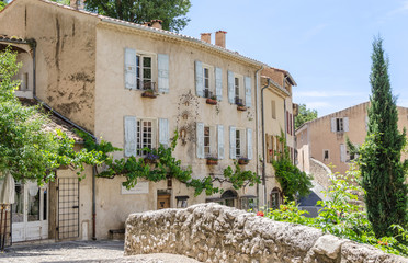 Moustiers-Sainte-Marie in Provence, France