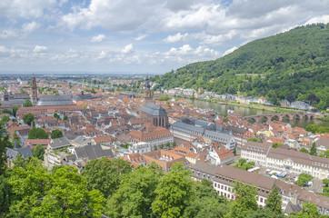 Heidelberg view, Germany