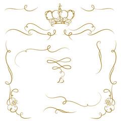Ornate cartouche