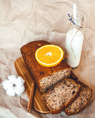 Freshly baked loaf