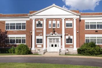 Typical American School building
