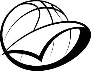 Basketball Pennant