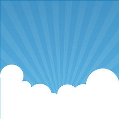 sky background great for any use. Vector EPS10.