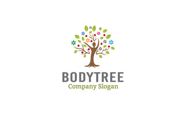 Body Tree Logo template