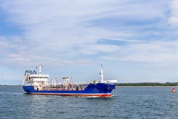 Schiffe Hafen Lübeck-Travemünde