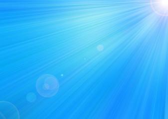 Abstract blue star light.