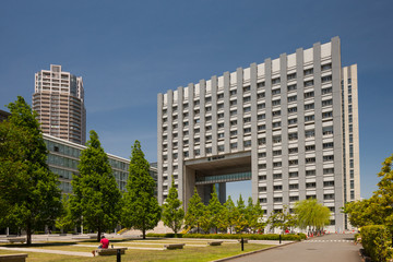Fototapete - 芝浦工業大学 豊洲キャンパス