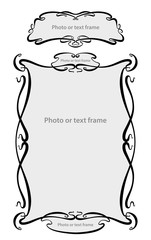 Набор винтажных элементов для создания полиграфической продукции