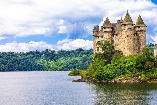 Chteau de Val - impressive medieval castle of France