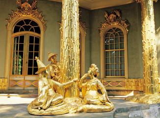 ポツダムのサンスーシ宮殿