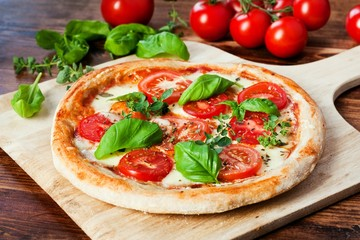 Fresh Homemade Pizza Margherita