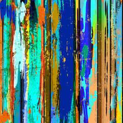 abstract grunge background, with stripes, paint strokes and spla