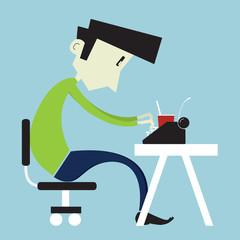 Boy at home desk3