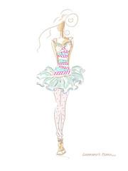 Fashion Summer Dress 208
