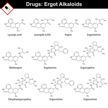 Ergot alkaloids and their synthetic and semi-synthetic analogues