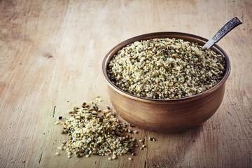 helled hemp seeds