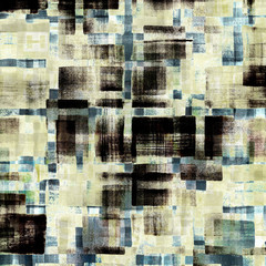 Pattern of grunge abstract watercolor geometric background
