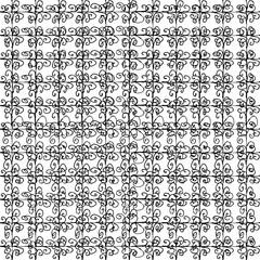 Geometric seamless pattern in ethnic folk style.