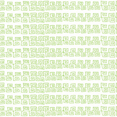 Seamless pattern in green color. Inspired by banknote and money