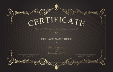 Search Photos Certificate Template