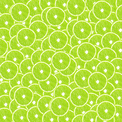Lime halves background