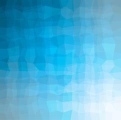 blue geometric pattern with reflect light