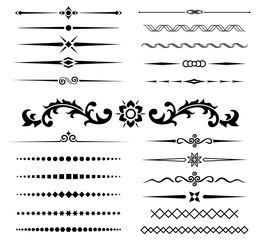 calligraphic design elements 4