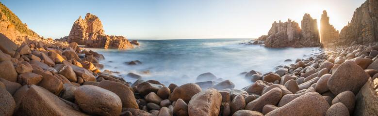 The Pinnacles at Phillip Island, Melbourne, Australia. Panorama view.