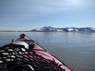 Kayak en terre polaire (n°2)