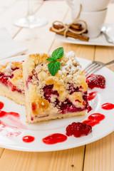 Raspberr dessert