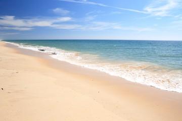 Sandy beach in Algarve, Portugal