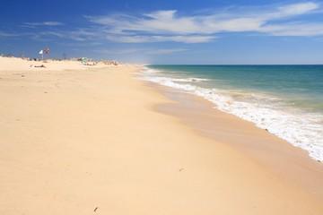 Beach on the Atlantic ocean