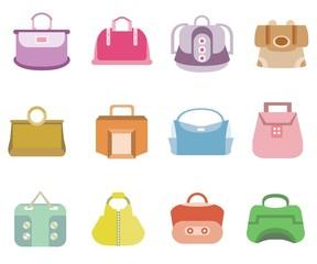fashion bag icons