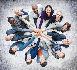 Business People Togetherness Friendship Corporate Concept