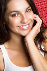 Smiling Happy Teenage Girl
