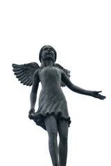 Sculpture of angel