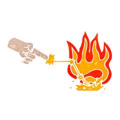 magic spell hand cartoon