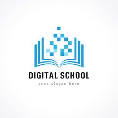 digital school logo
