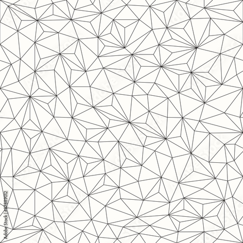 triangles background seamless pattern line design stock image and