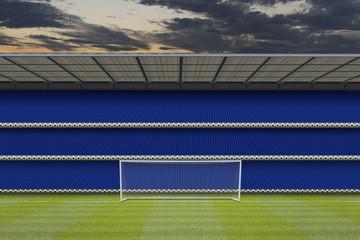 computer generated football stadium