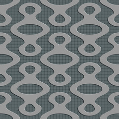 Seamless Ellipse Pattern.