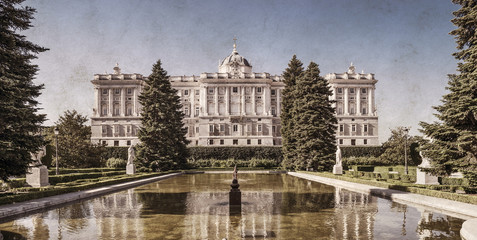Royal Palace of Madrid,Spain