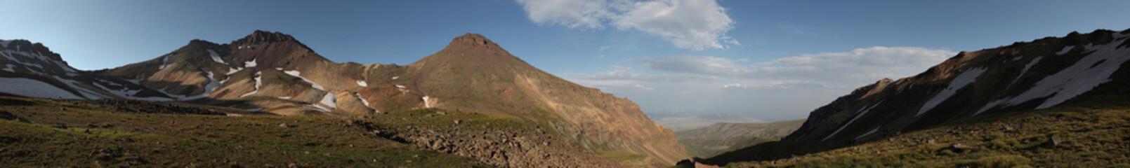 Mount Aragats, Armenia.