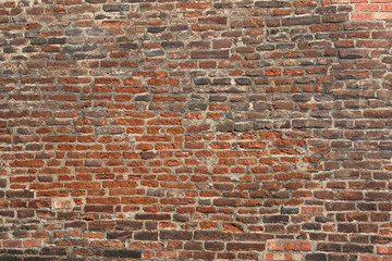 Old brick wall. Background texture