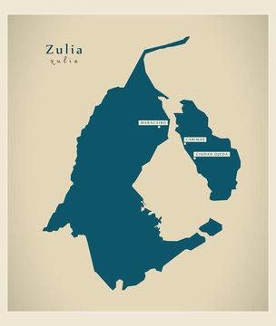 Modern Map - Zulia VE