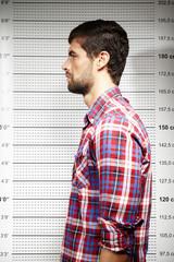 Jail photo of violent criminal