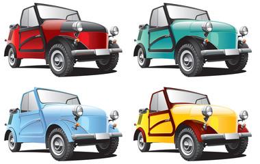 Vintage Soviet microcar